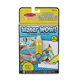 Melissa & Doug Water Wow! - Vehicles Connect the Dots