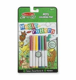 Melissa & Doug On the Go Magic Pattern Pad - Pets