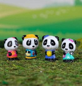 Timber Tots Timber Tots Panda Family set of 4