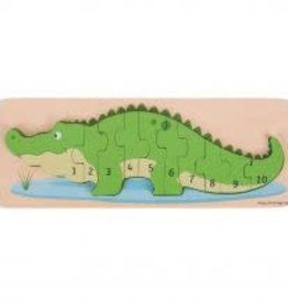 Big Jigs Crocodile Number Puzzle