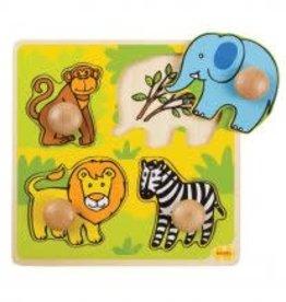 Big Jigs My First Peg Puzzle Safari