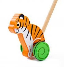 Big Jigs Tiger Push Along