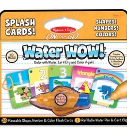 Melissa & Doug Water Wow! - Splash Cards Shapes, Numbers & Colors