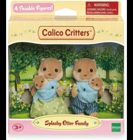 Calico Critters Splashy Otter Family