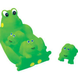 playmaker toys Frog Family Bath Set