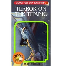 Chooseco Choose Your Own Adventure Terror on the Titanic By Jim Wallace