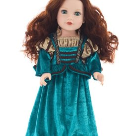 Little Adventures Doll Dress Medieval Princess