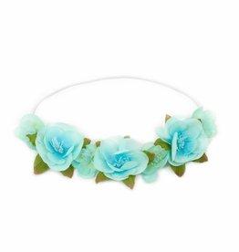 Little Adventures Teal Flower Headband