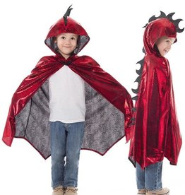 Little Adventures Red Dragon Cloak Ages 3-8