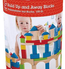 Hape Build Up & Away Blocks - 100 pcs