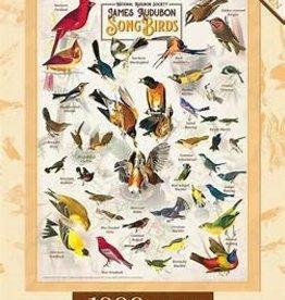 masterpieces Audubon Songbirds w/ Linen 1000 pc