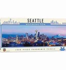 masterpieces Seattle Panoramic 1000 pc