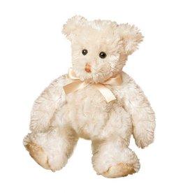 "Douglas 6"" Cream Fuzzy Bear"