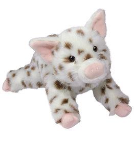 "Douglas 16.5"" Levi Brown Spotted Pig"