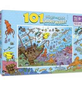 masterpieces 101 Things to Spot - Underwater 101pc Puzzle