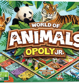 masterpieces World of Animals opoly Jr