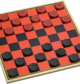 Maple Landmark Cowboy Checkers
