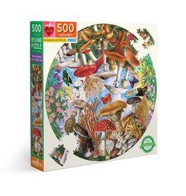 eeBoo Mushrooms and Butterflies 500 pc