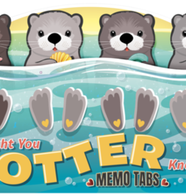 STREAMLINE You Otter Know Memo Tabs