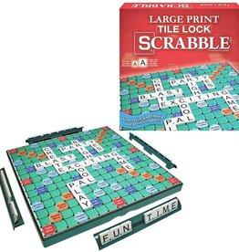 Large Print Tile Lock Scrabble