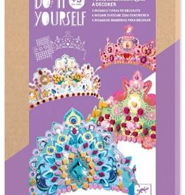 DJECO Like a Princess DIY Crowns Craft Kit