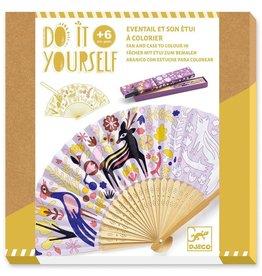 DJECO Woodland Beauty DIY Fan + Case Craft Kit