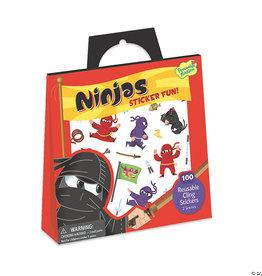 Peaceable Kingdom Ninjas Sticker Tote