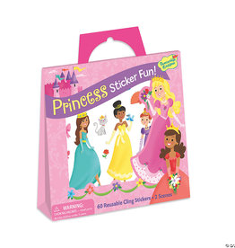 Peaceable Kingdom Princess Reusable Sticker Tote