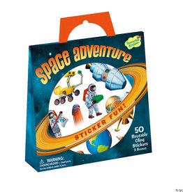 Peaceable Kingdom Space Adventure Sticker Tote