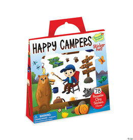 Peaceable Kingdom Happy Campers Reusable Sticker Tote