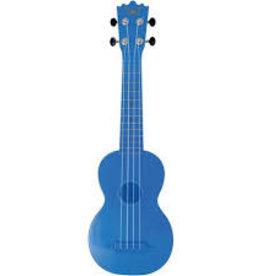 Trophy Music Plastic Soprano Ukulele Blue