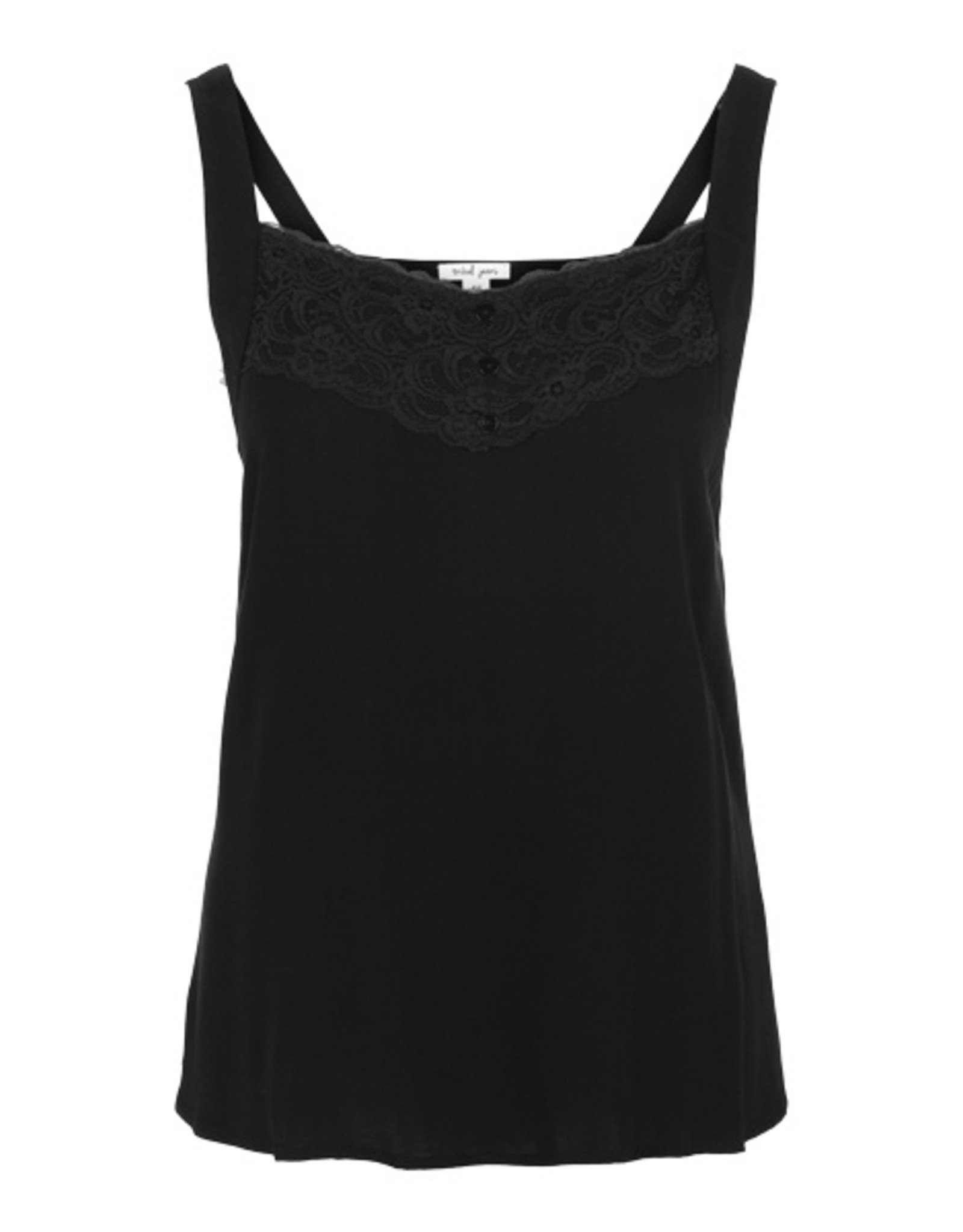 Tribal Swing Tank with Lace Trim