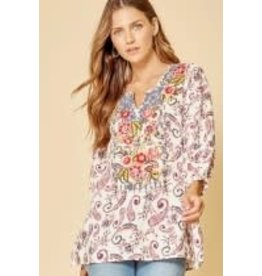 Savanna Jane Embroidered Tunic