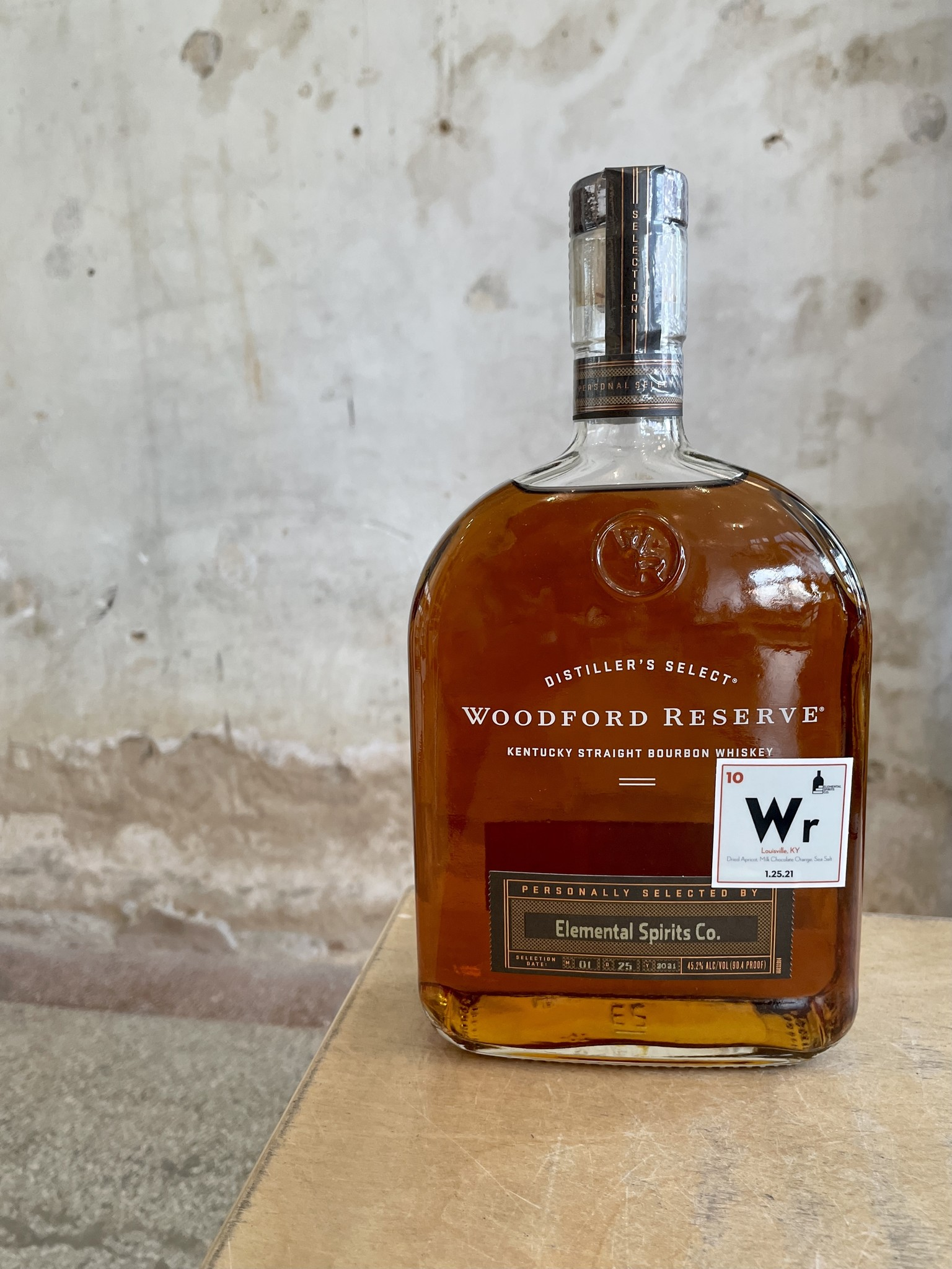 Woodford Woodford Reserve Private Blend Liter **Elemental Spirits Co. Exclusive**