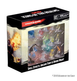 WizKids D&D Spell Effects: Arcane Fury & Divine Might