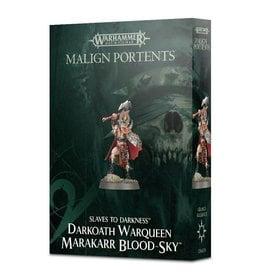 Citadel AoS: Slaves to Darkness - Darkoath Warqueen Marakarr Blood Sky