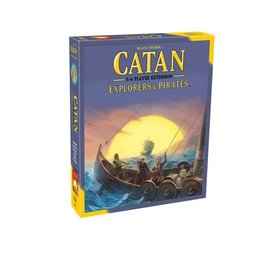 Asmodee - Catan Studios Catan: Explorers and Pirates 5-6 Player Expansion