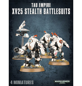 Tau Empire: XV25 Stealth Battlesuits