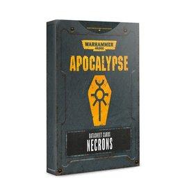 Apocalypse: Necrons Datasheet Cards