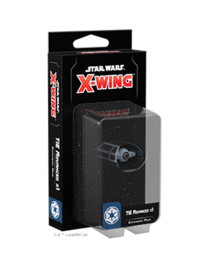 Asmodee - Fantasy Flight Games X-Wing 2.0: TIE Advanced x1 Expansion Pack