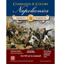 Napoleonics: The Spanish Army (Commands and Colors)
