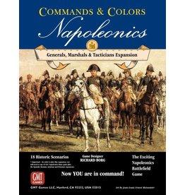 Napoleonics: Generals, Marshals, and Tacticians (Commands and Colors)