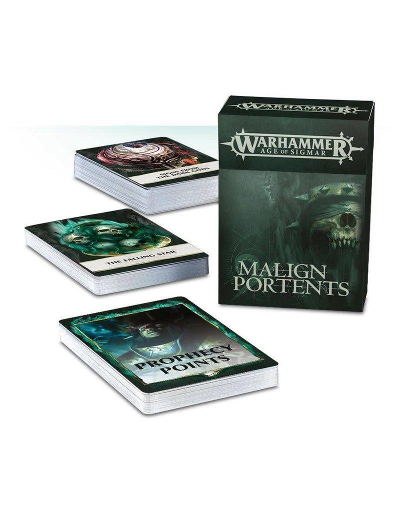 Citadel AoS: Malign Portents Cards