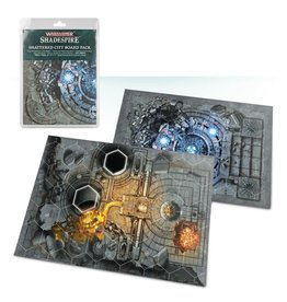Warhammer Underworlds: Shadespire - Shattered City Boards
