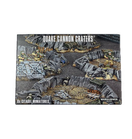 Citadel Quake Cannon Craters