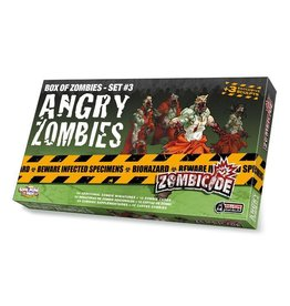 Zombicide - Box of Zombies Set #3: Angry Zombies Expansion