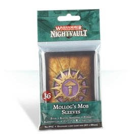 Warhammer Underworlds: Nightvault - Mollog's Mob Cards Sleeves