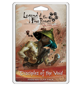 Legend of the Five Rings LCG: Disciples of the Void (Phoenix Clan Pack)