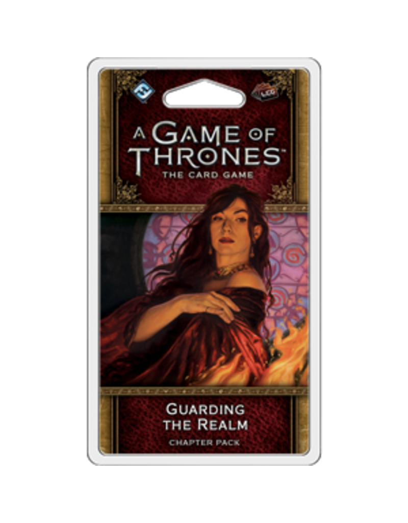 Asmodee - Fantasy Flight Games A Game of Thrones LCG (Second Edition): Guarding the Realm Chapter Pack