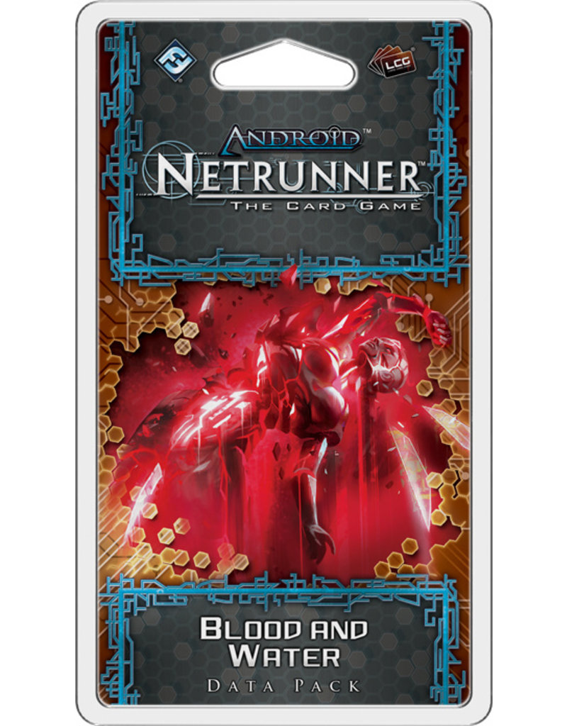 Asmodee - Fantasy Flight Games Android Netrunner LCG: Blood and Water Data Pack